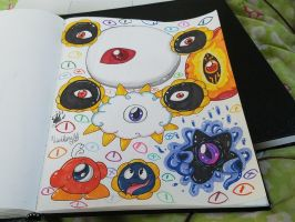 Loads of Eyes by vivilong