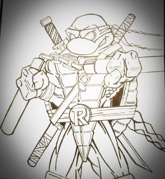TMNT Sketch by Icecap14626