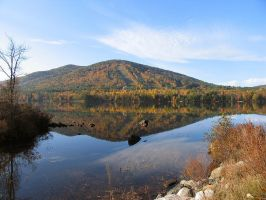 Moose Head Pond, Maine by sataikasia