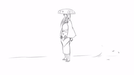 [Gintama Never Ends] Gintama Tegaki Animation-X.U.