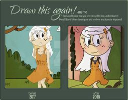 Draw this again! by BluFlameStudio