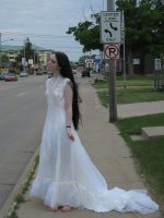 Wedding dress 4 by 3corpses-in-A-casket
