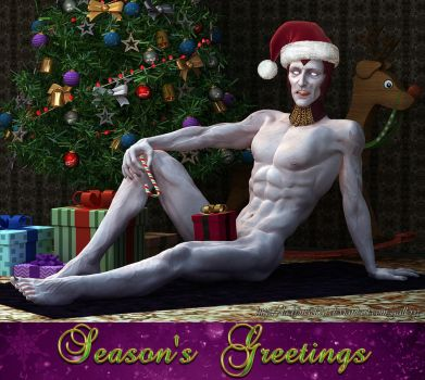 Holiday Shinnok, for his fangirls and fanboys by ladymadcat