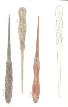 Harry Potter wands 3 by FlameoftheWest7