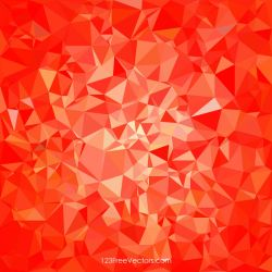 Polygonal Red Wallpaper Background Free Vector by 123freevectors