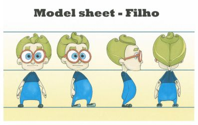 Tough game - Model sheets by PedroTurano