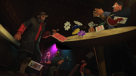 [SFM] How to NOT play poker. by Piallah