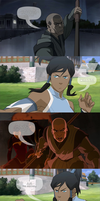 Legend of Korra - Late to the party by yourparodies