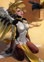 Mercy sit! by Alloniya