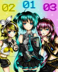 Vocaloid Girls! ~Thank you for 300+ by naftie