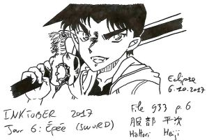 Jour 6 - Sword (Epee) Inktober 2017 by Ai-Eclipse