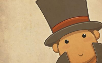 Chibi Layton is Watching by zillabean