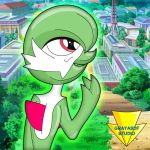 Gardevoir Can Do It! (coloured) by Imaflashdemon