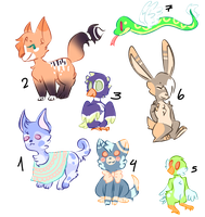 4-10p Adopts (CLOSED) by Cathe-Cat