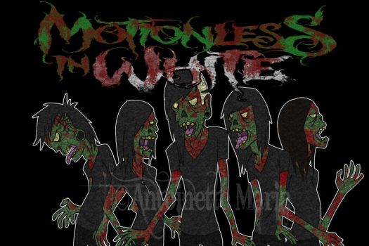 Motionless In White: Zombies by SlicedBerry-Pro