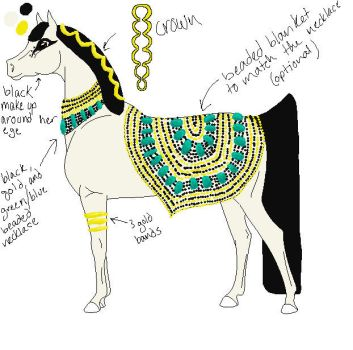Egyptian Mare Contest Entry by TheDragonGirl123