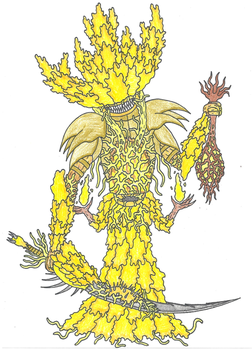 The Yellow Queen by EvolutionsVoid