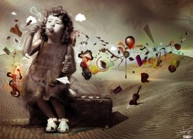 IMAGINATION by archanN