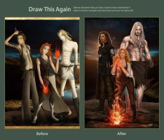 Draw This Again: Azheek - Ihre Thet by threevoices