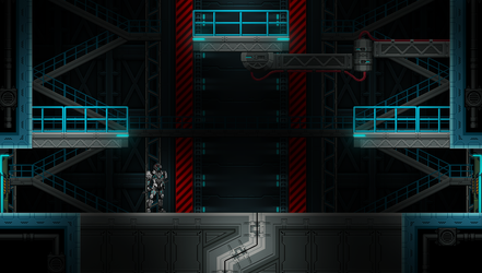 Beyond-Human: Hanger section by domino99designs