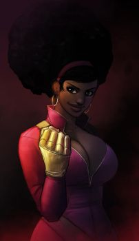 Misty Knight by ExMile
