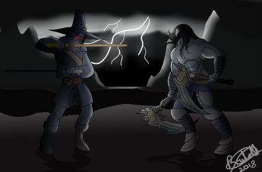 [Request] Death vs Chakan by Brutalwyrm