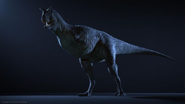 Carnotaurus Animation Test by Red-Dilopho