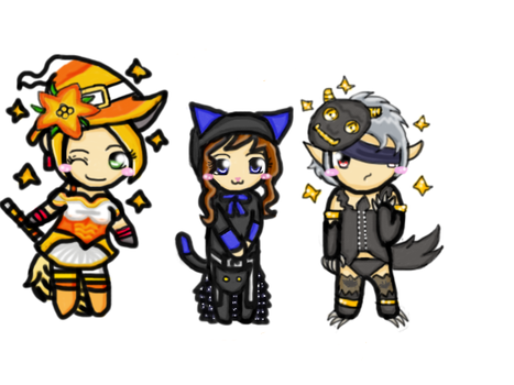 Gaia halloween picture by KairiDrive