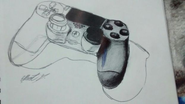 challenge day 2: ps4 controller by Eglor64