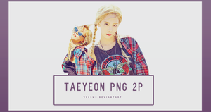 TaeYeon WHY 2P PNG by vul3m3