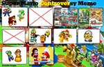 My Super Mario Controversy meme (reuploaded) by BeeWinter55