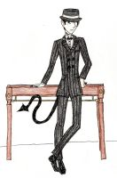 Deathrow (Black Suit's son) by Happy-Masked-Mystery