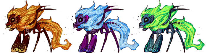 Feral Inky Adopts CLOSED by Adopt-A-Boz