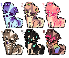 Dog auction adopts - closed by Flaamez-Adopts