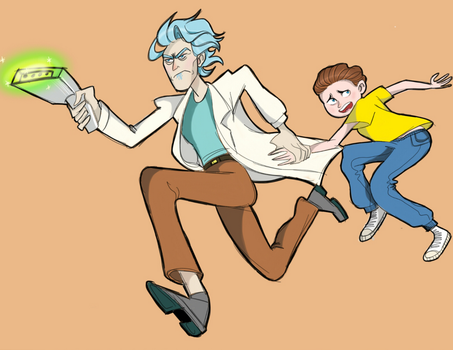 Rick and Morty! by Tucks-Qwerty