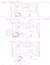 Loose Cannon 2 boss level outline by arcanineryu