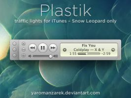 Plastik for iTunes by YaroManzarek