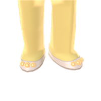 Princessy Pearl Slippers by Rosemoji