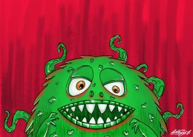 Monsta by Hucklemary