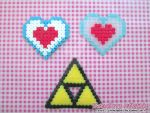 Video Game Hama: *Legend Of Link* Collectibles
