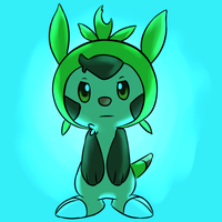 Chespin Drawing no.328310927041 by fuwoops