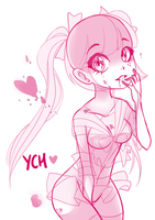 Sweetheart YCH: CLOSED by Cynical-Pancake