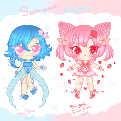 Swimwear Adoptables! - Set Price! closed by StarryStellary