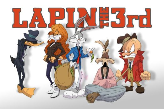 Looney Tunes - Lapin The 3rd by andrewk