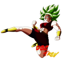 Look at Your Insane Power!! Kale Takes Control! by DBZTrev
