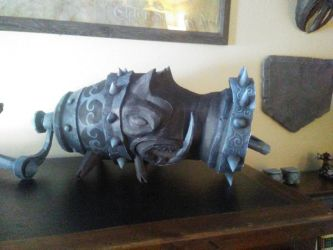 Alice Madness Returns peppergrinder lv4 papercraft by RJB13