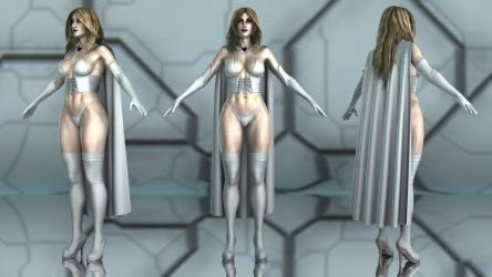 Emma Frost for G3F by geminii23