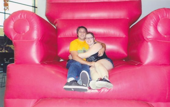 Big Red Chair of Love by HopingHani