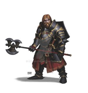 Dwarf Fighter of Grisal
