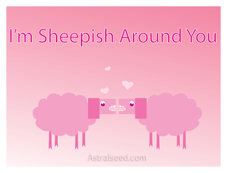 Sheepy Valentines Day by Astralseed